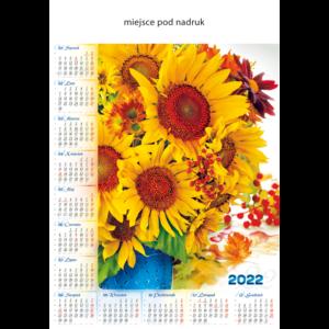kalendarz plakatowy SŁONECZNIKI   B75