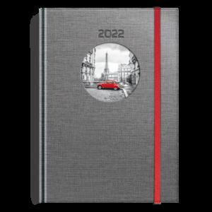 kalendarz książkowy A5 dzienny PIĄTY ELEMENT | KK33