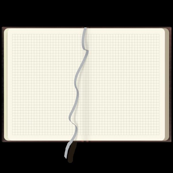 notes szyty A5 NIEBIESKI