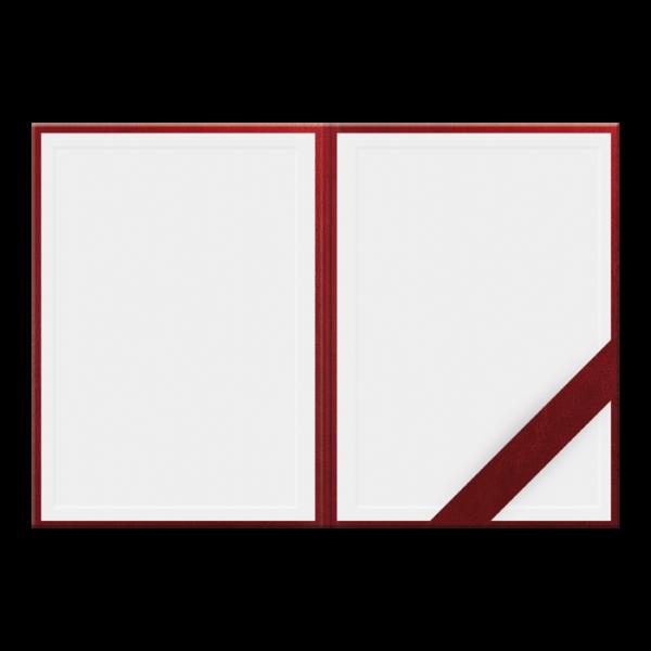 Teczka konferencyjna i okolicznościowa CZERWIEŃ   TK102
