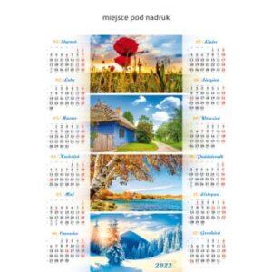 kalendarz plakatowy CZTERY PORY ROKU   B76